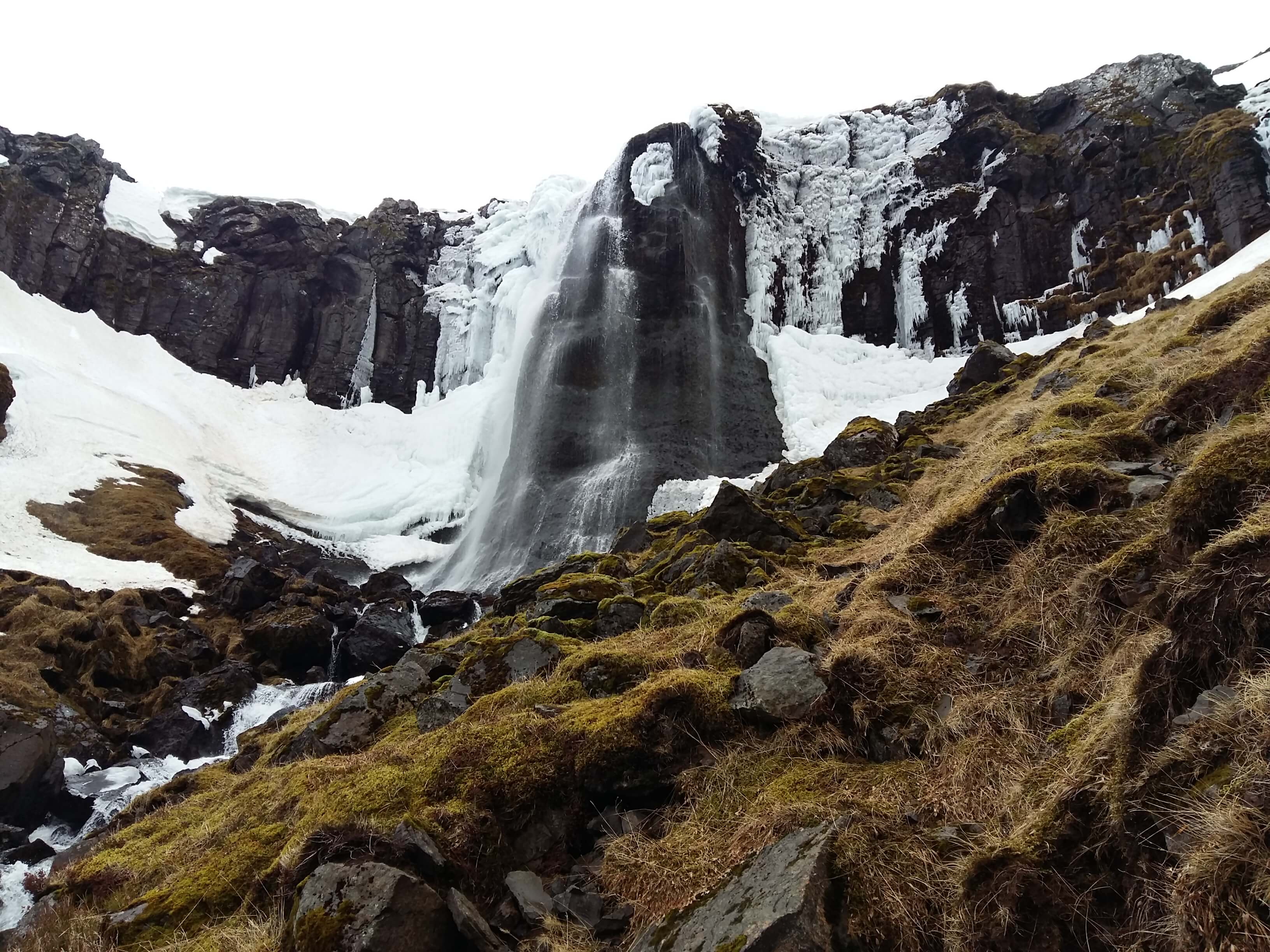 vodopád Bæjarfoss