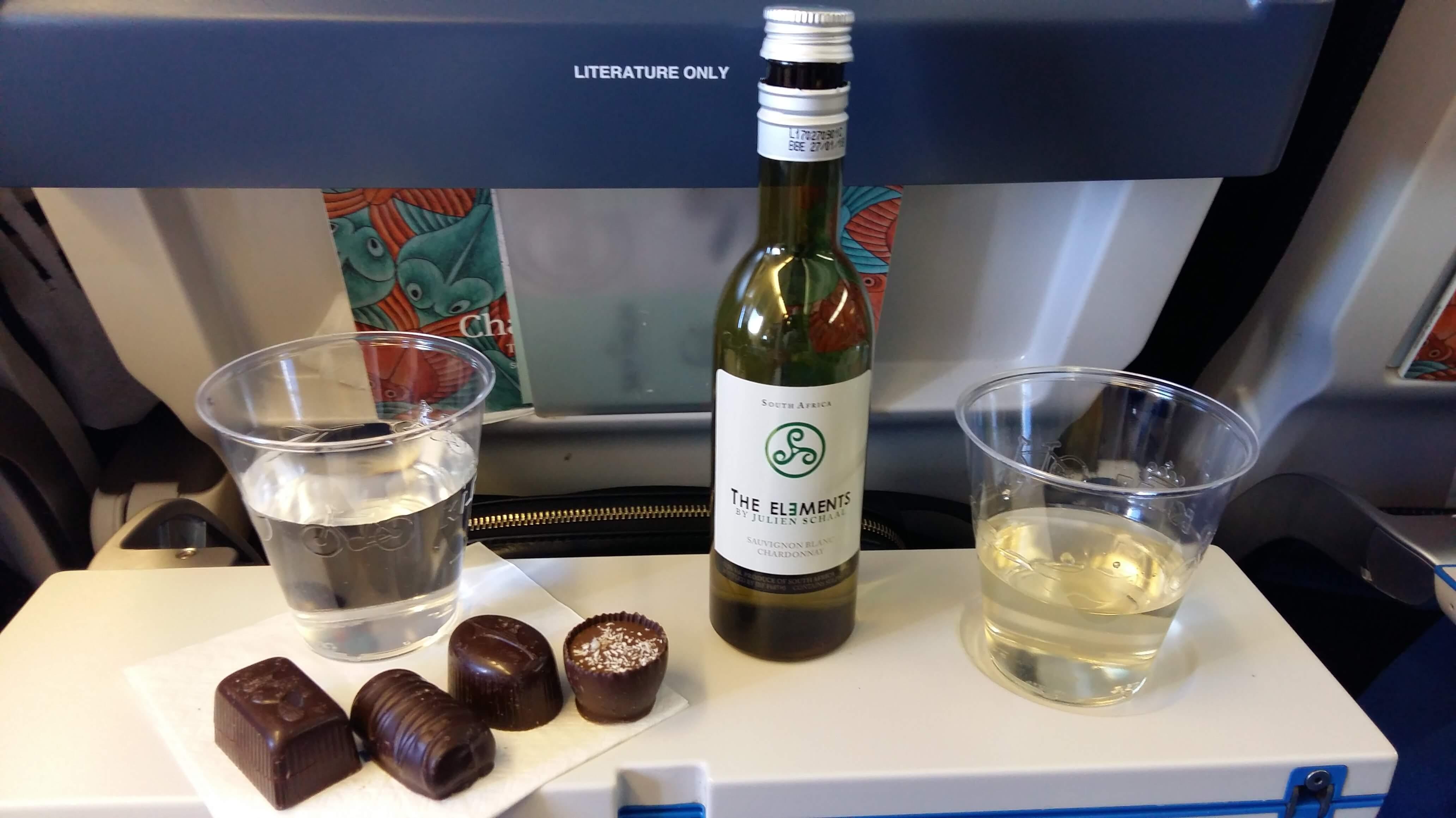 party v lietadle