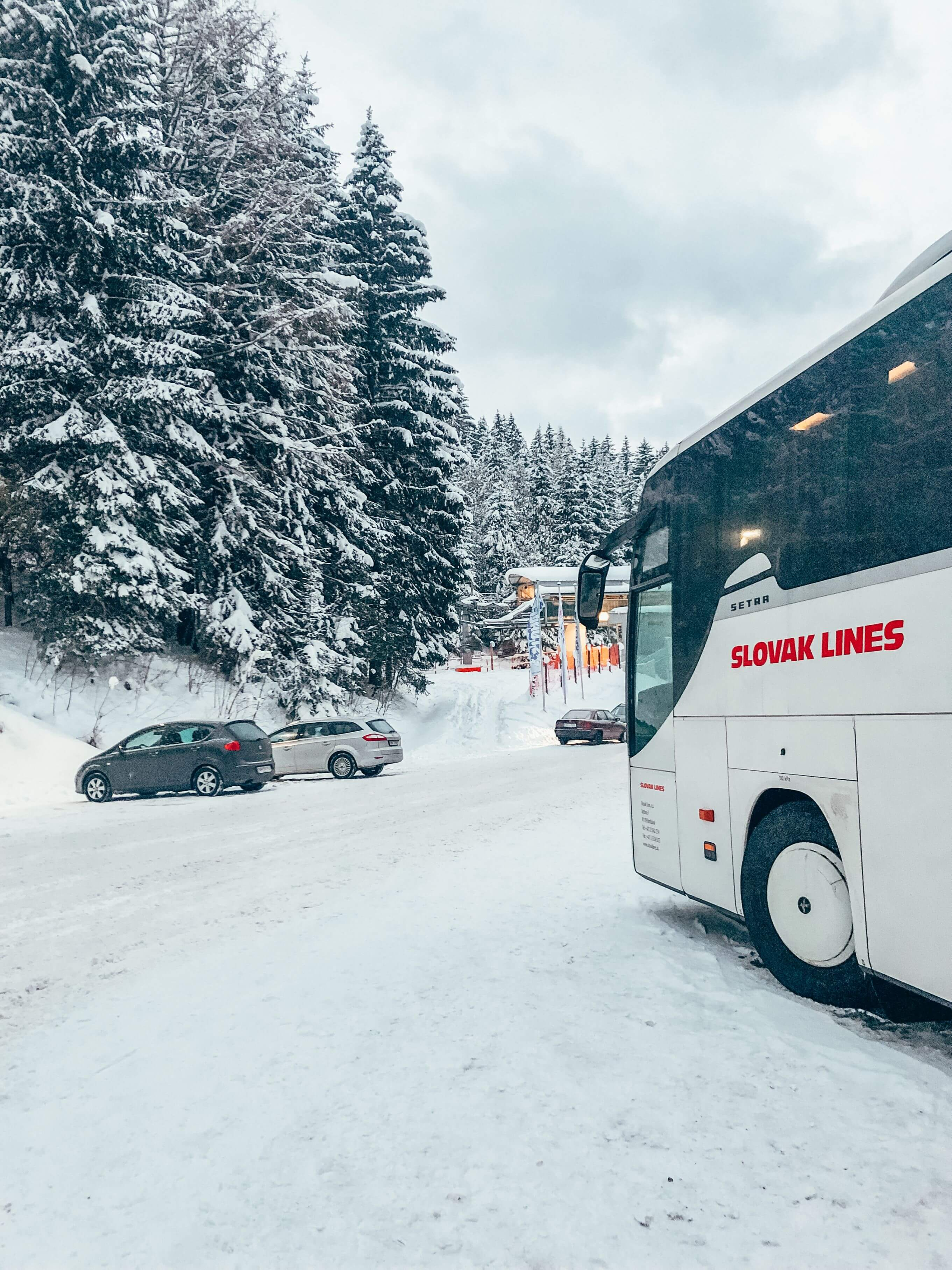 autobusom na Stuhleck