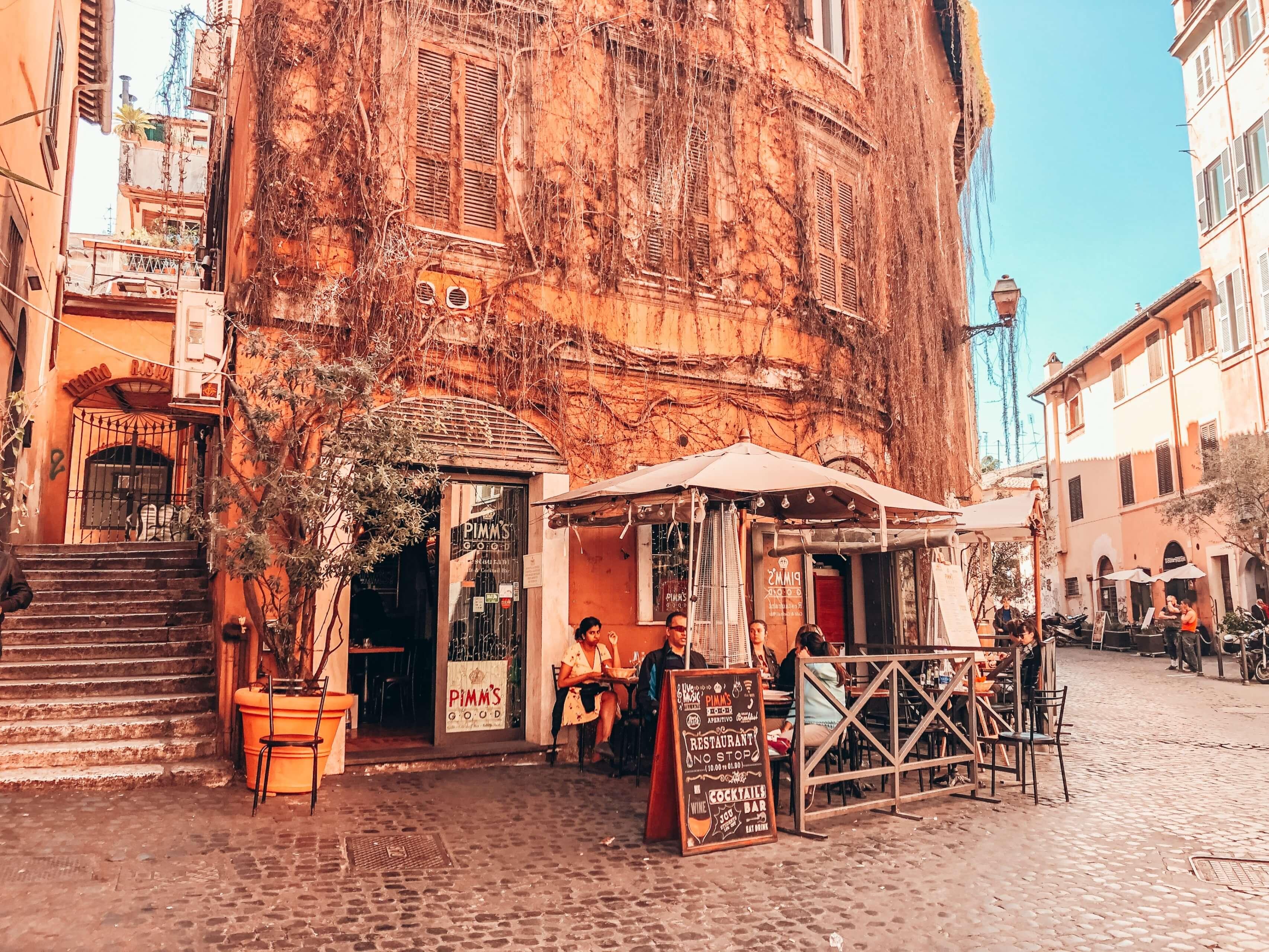 Kde sa najesť v Ríme