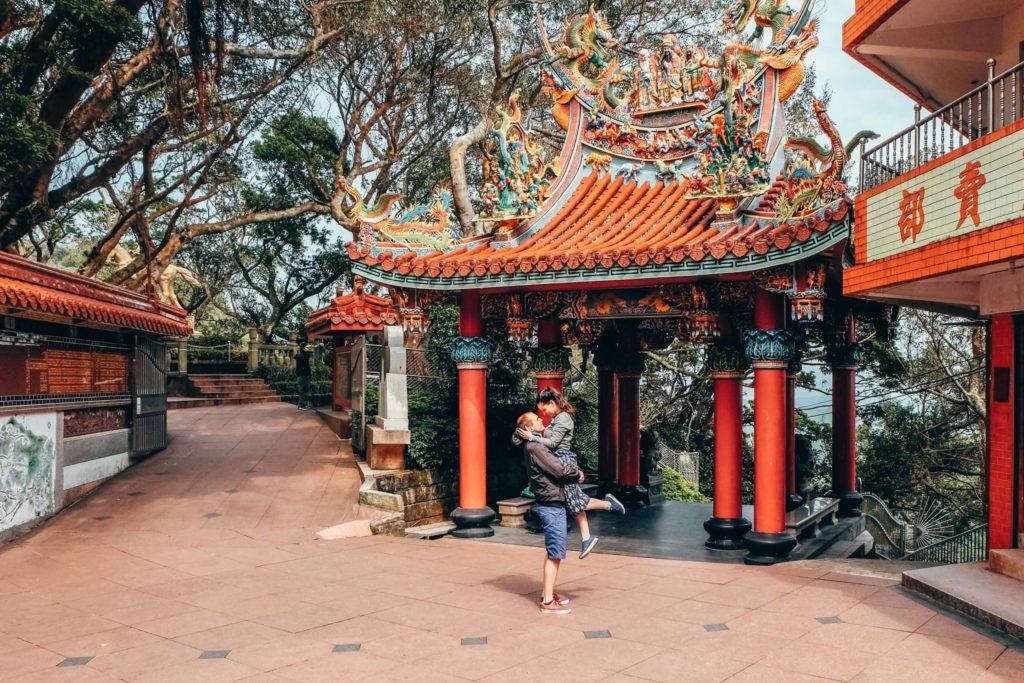 výlet na Taiwane