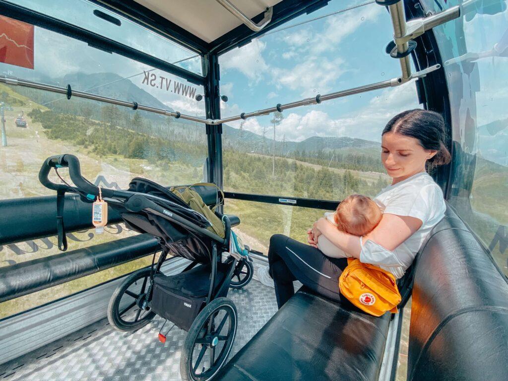 Na hory s bábätkom